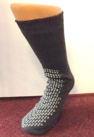 Socks with tread on bottom