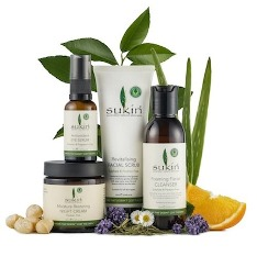 Sukin Organics Natural Skincare and Hair Care Products